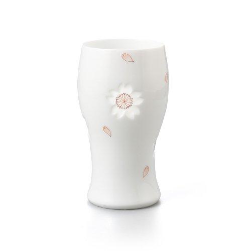 透かし彫 桜 ビアグラス