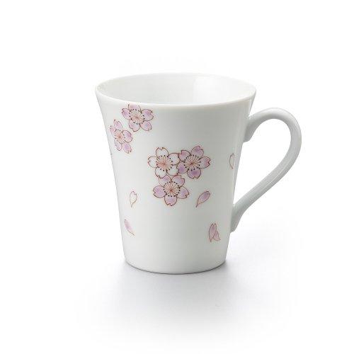 桜 長マグカップ ピンク