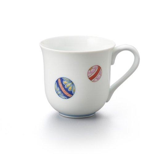 手まり 丸マグカップ