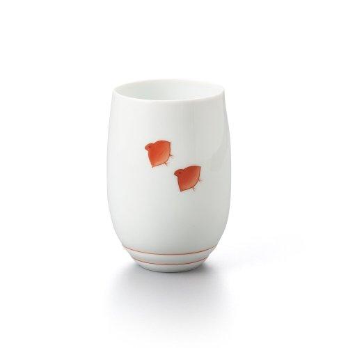 千鳥 フリーカップ 赤