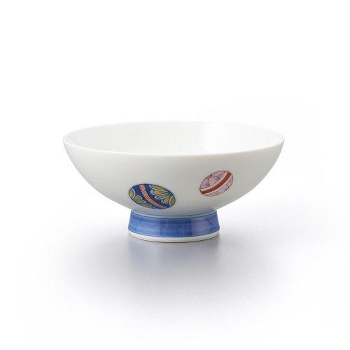 手まり 平茶碗(大)青