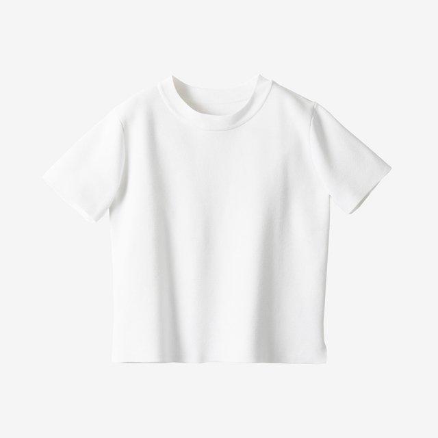 ニットTシャツ【white】