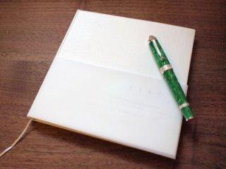 大和出版印刷(株) 限定生産品 CIRO 万年筆専用ノート・スクエア