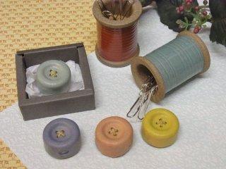 Cohana(コハナ) 信楽焼のボタンマグネット