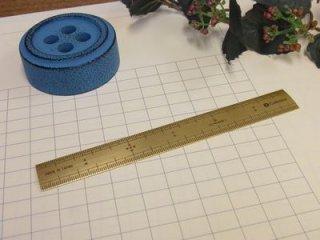 Cohana(コハナ) 真ちゅうの竹尺 15cm