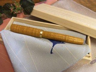 長軸(真鍮パーツ)桑縮み杢