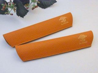 カンダミサコ ペリカンスーベレーン600ヴァイブラントオレンジ用1本差しペンシース