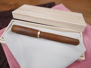 長軸(真鍮パーツ)キューバマホガニー