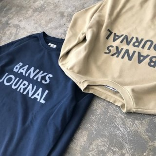 BANKS JOURNAL(バンクスジャーナル)JOURNAL FLEECE
