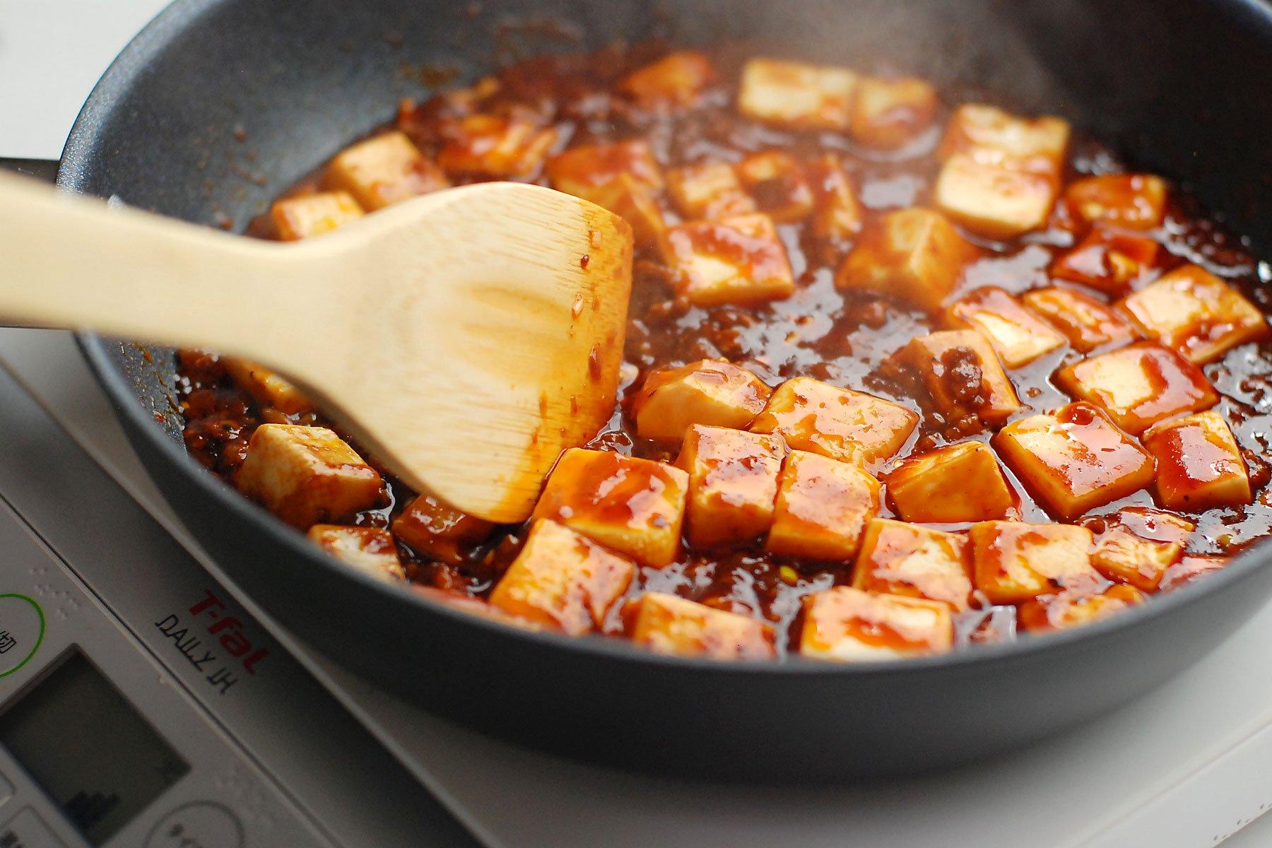 中華街の麻婆豆腐がつくれるソース(四川式)麻婆豆腐