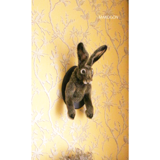 壁掛けウサギ