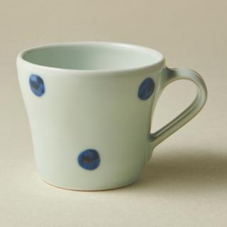 マグカップ(小)/水玉<br>small mug