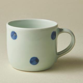 マグカップ(中)/水玉<br>medium mug