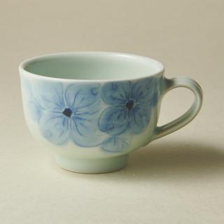コーヒーカップ&ソーサー/ハナミズキ<br>coffee cup & saucer