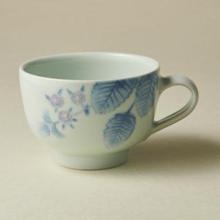 コーヒーカップ&ソーサー/ブラックベリー<br>coffee cup & saucer