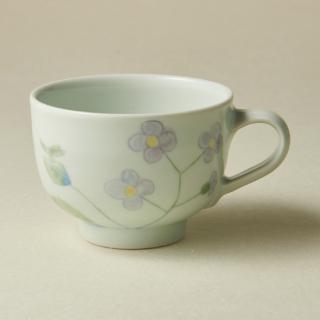 コーヒーカップ&ソーサー/野花<br>coffee cup & saucer