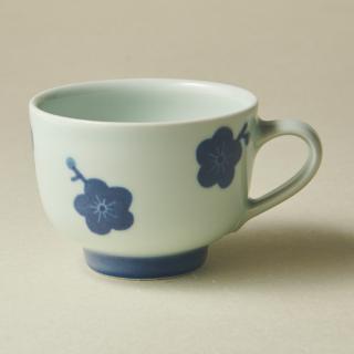 コーヒーカップ&ソーサー/梅<br>coffee cup & saucer