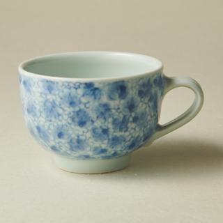 コーヒーカップ&ソーサー/唐草<br>coffee cup & saucer