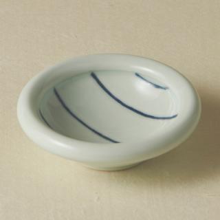 3寸玉縁鉢/ボーダー<br>90mm tamabuchi bowl