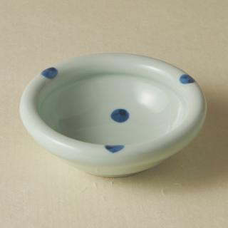 4寸玉縁鉢/水玉<br>130mm tamabuchi bowl