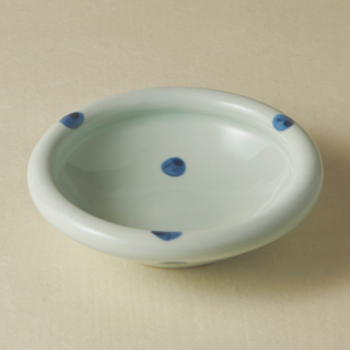 5寸玉縁鉢/水玉<br>150mm tamabuchi bowl