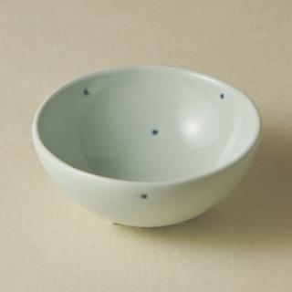 足付コロコロ鉢(大)/ドット<br>bowl with legs