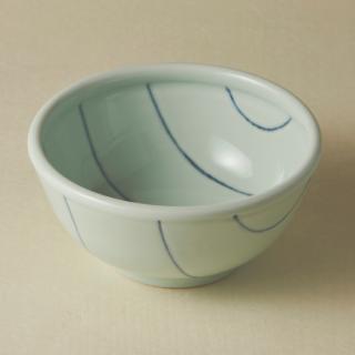 丼鉢(中)/ボーダー<br>medium bowl