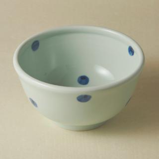丼鉢(大)/水玉<br>large bowl