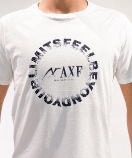MEN'S かすれロゴ半袖TEE