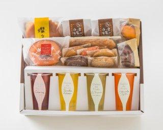 フルーツゼリーと焼き菓子のセット(春夏季限定)