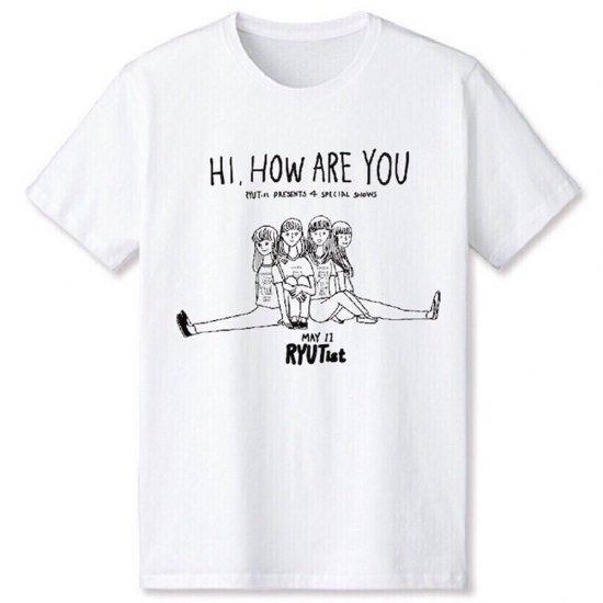 「 HI, HOW ARE YOU 」Tシャツ (1stシリーズ) - T-shirt