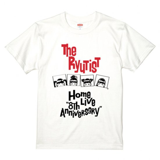 8th Anniversary  Tシャツ TWO COLORS - T-shirt