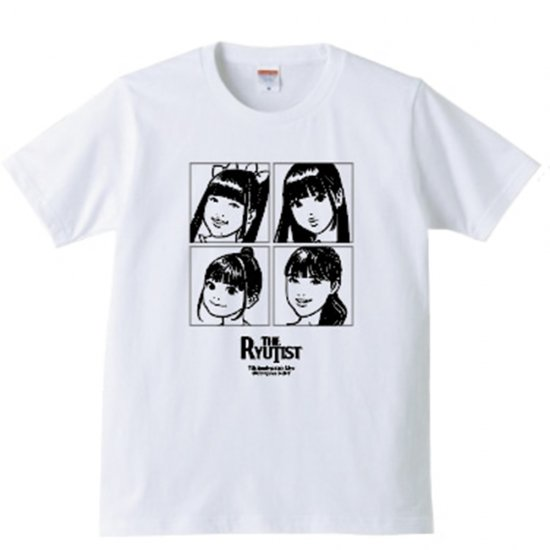 THE RYUTist 7th Anniversary 東京編  Tシャツ - T-shirt