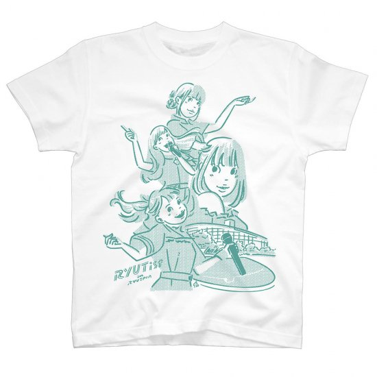 "RYUTist ""HALL→HOME"" LIVE Tシャツ TWO COLORS"