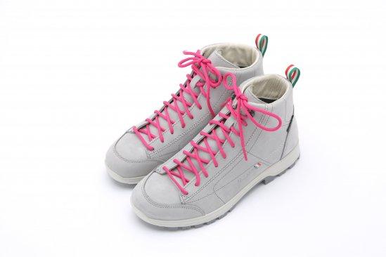 【ショップ限定商品】イタリア直輸入 ピンク紐のレインブーツ
