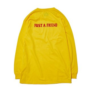 【HOLE AND HOLLAND】JUST A FRIEND LONG SLEEVE TEE Art by NAIJEL GRAPH (MIX CD付き)