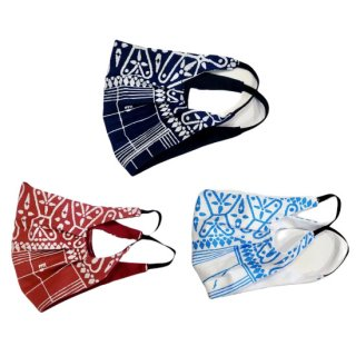 <img class='new_mark_img1' src='https://img.shop-pro.jp/img/new/icons14.gif' style='border:none;display:inline;margin:0px;padding:0px;width:auto;' />【PLACE Remake Item】x Mayo Sato BANDANA MASK-1