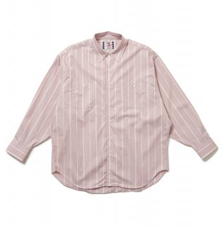 <img class='new_mark_img1' src='https://img.shop-pro.jp/img/new/icons14.gif' style='border:none;display:inline;margin:0px;padding:0px;width:auto;' />【SON OF THE CHEESE】Stripe Big Shirt(PINK)