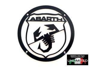 イタリア製アバルト アロイスピーカーカバー ブラック