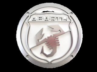 イタリア製アバルト アロイスピーカーカバー シルバー