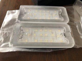 フィアット500・アバルト500 595 LED ナンバー灯 ライセンスランプ