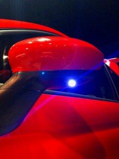 FIAT500・ABARTH500・595 LEDウエルカムランプ(純正ドアミラーお預かり加工)
