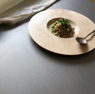 木のお皿/太リム