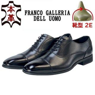 FRANCO GALLERIA フランコギャレリア 本革ドレスシューズ P01 BL