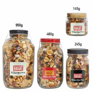 MUNCHIE FOODS / SMOKED MIX NUTS × HAIGHT - 245g