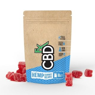 CBDfx / HEMP GUMMIES - MIXED BERRY (8PCS)