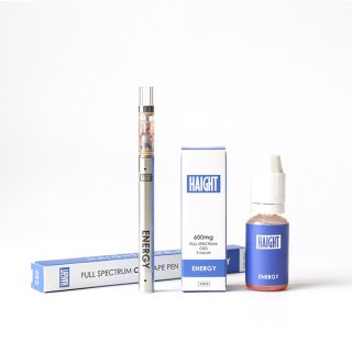 HAIGHT / FULL SPECTRUM CBD 4% E-LIQUID+PEN SET - ENERGY
