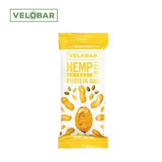 <img class='new_mark_img1' src='//img.shop-pro.jp/img/new/icons15.gif' style='border:none;display:inline;margin:0px;padding:0px;width:auto;' />VELOBAR / CBD PROTEIN BAR - PEANUT BUTTER - 25mg