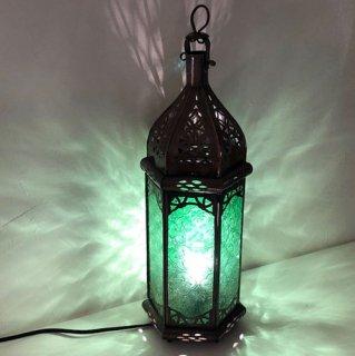 モロッコ ランプ  プチ/グリーン