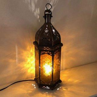 モロッコ ランプ  プチ/オレンジ